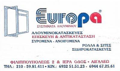 EUROPA(ΣΠΥΡΟΣ ΑΝΘΟΚΛΗΣ)
