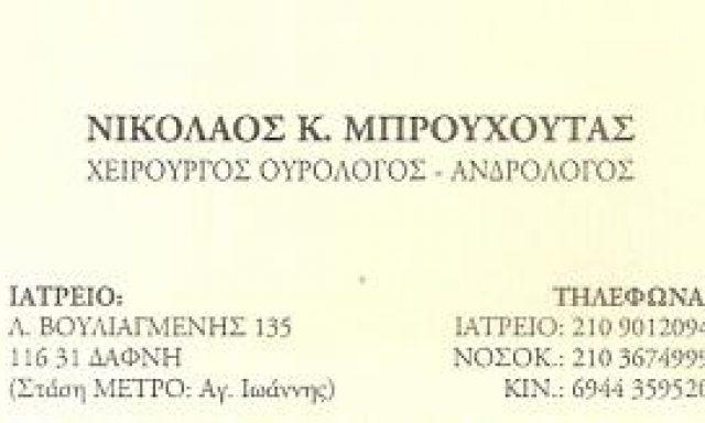 ΜΠΡΟΥΧΟΥΤΑΣ ΝΙΚΟΛΑΟΣ