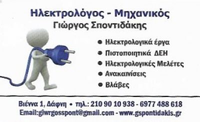 ΣΠΟΝΤΙΔΑΚΗΣ ΓΕΩΡΓΙΟΣ