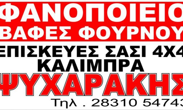 CARGLASS-ΨΥΧΑΡΑΚΗΣ ΡΕΘΥΜΝΟ