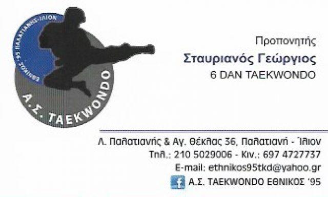 ΕΘΝΙΚΟΣ 95-ΣΤΑΥΡΙΑΝΟΣ ΓΕΩΡΓΙΟΣ
